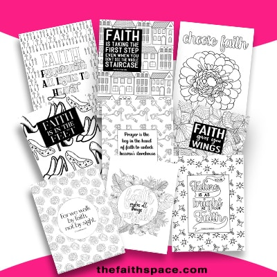 coloring pages about faith